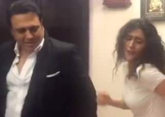 Ragini Khanna and Govinda dancing together