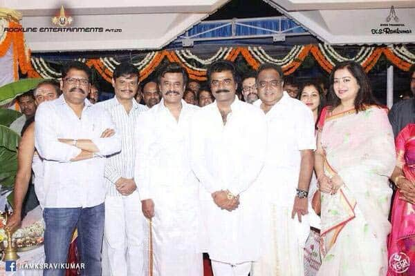 Rajinikanth and Sonakshi Sinha start shooting for Lingaa - View pics!