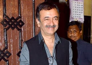 Rajkumar Hirani during Anil Kapoor's birthday bash
