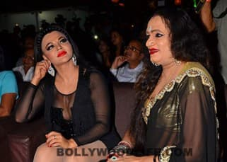 Rakhi Sawant with Lakshmi Narayan Tripathi at muhurat of movie 'Upeksha'