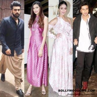 Ranbir Kapoor joins Arjun Kapoor, Athiya Shetty and Ileana D'Cruz for the Nach Baliye finale – photos