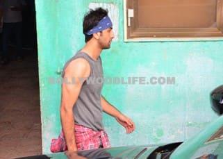 Ranbir Kapoor snapped post rehearsals of 'Jagga Jasoos' song