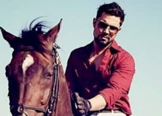 Randeep Hooda snapped in this hot look with a horse