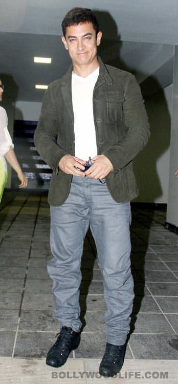Rani Mukerji, Priyanka Chopra, Ranbir Kapoor, Katrina Kaif, Alia Bhatt at Aamir Khan's house party