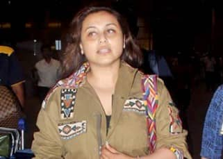 Rani Mukherjee returns from Paris, SPOTTED at Mumbai airport without daughter Adira!