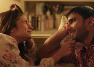 Ranveer Singh and Alia Bhatt's still from the latest ad of Make My Trip
