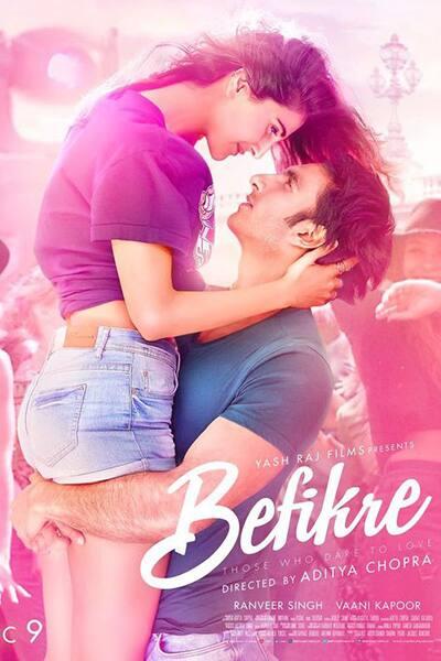 Ranveer Singh and Vaani Kapoor's Befikre