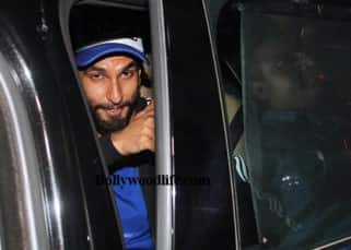 Ranveer Singh clicked as he leaves from Bhansali's office