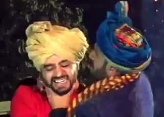 Ranveer Singh embraces friend at his wedding