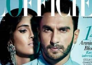 Ranveer Singh featured on cover of L'Officiel magazine