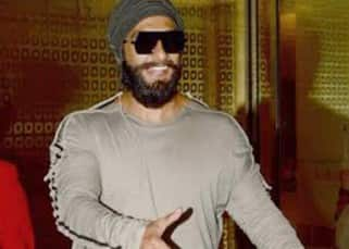 Ranveer Singh returns back to the city sans girlfriend Deepika Padukone