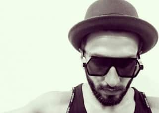 Ranveer Singh's selfie at Excel Entertainment's office'