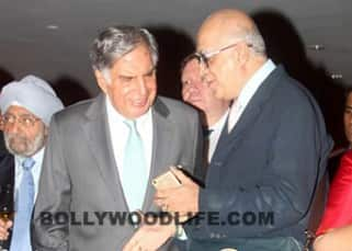Ratan Tata snapped during 'Tajness' show