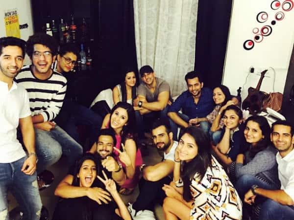 Ravi Dubey, Karan Patel, Vivian DSena, Surbhi Jyoti, Rithvik Dhanjani, Asha Negi celebrate Suyyash Rai's birthday  - View pics!