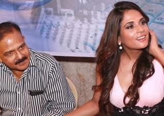 Richa Chadda with social activist Amod Kanth at a press conference in Nodia