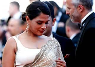 Richa Chadha failed to impress us with her style statement at 69th Cannes Film Festival!