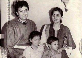 Rishi Kapoor Personal Photos