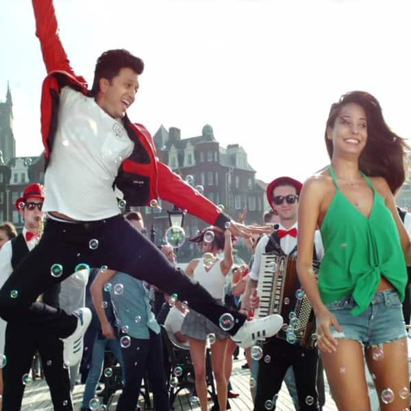 Riteish Deshmukh And Lisa Haydonu0027s Still From Pyaar Ki Maa Ki Song Of U0027Housefull  3