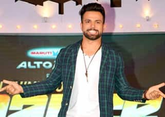Rithvik  Dhanjani  on sets of 'So You Think You Can Dance'