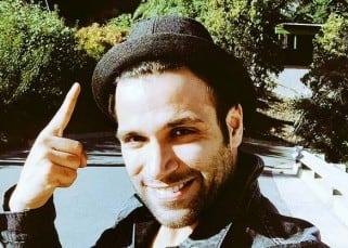 Rithvik Dhanjani's selfie in Los Angeles