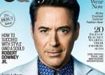 Robert Downey Jr. owns the cover of GQ Style magazine like a boss, see pics!