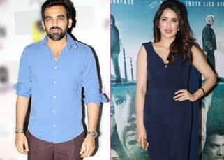 Sagarika Ghatge's boyfriend Zaheer Khan attends the special screening of Irada with his cricket folks
