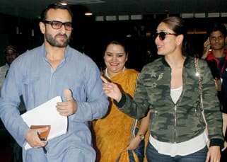 Saif Ali Khan takes wife Kareena Kapoor Khan for a short trip out of Mumbai!