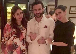 Saif Ali Khan's late night birthday party was an intimate affair, see pics!