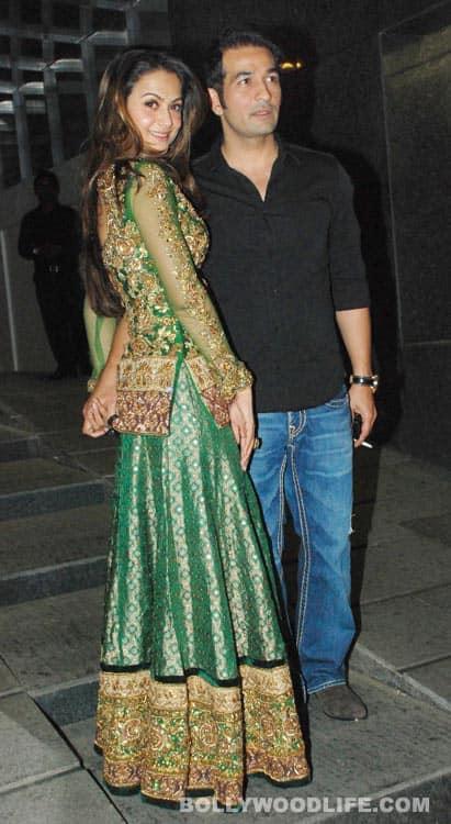 Salman Khan and Katrina Kaif at the 'Khan family bash'