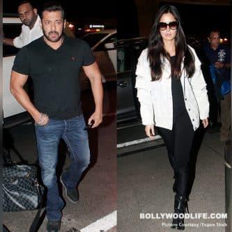 Salman Khan and Katrina Kaif head out to shoot the final song of Tiger Zinda Hai