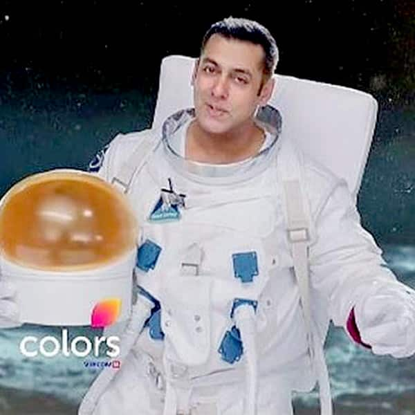 Salman Khan as astronaut in Bigg Boss 10 promo