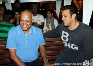 Salman Khan enjoys a ride with Ashmit Patel at Adlabs Imagica
