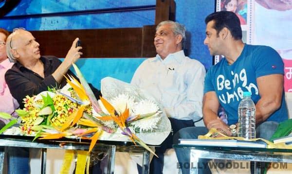 Salman Khan launches dad Salim Khan's Mahatma Gandhi and Cinema book