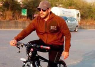 Salman Khan loves cycling, proof in pictures