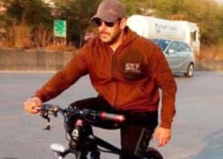 Salman Khan loves to bicycle, proof in pictures