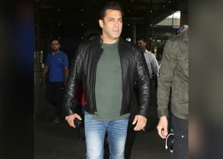 Salman Khan makes a stylish entry as he returns from the Da-bangg tour – View pics