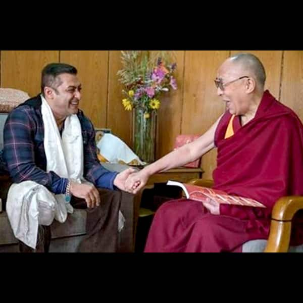 Salman Khan meets Dalai Lama in Leh
