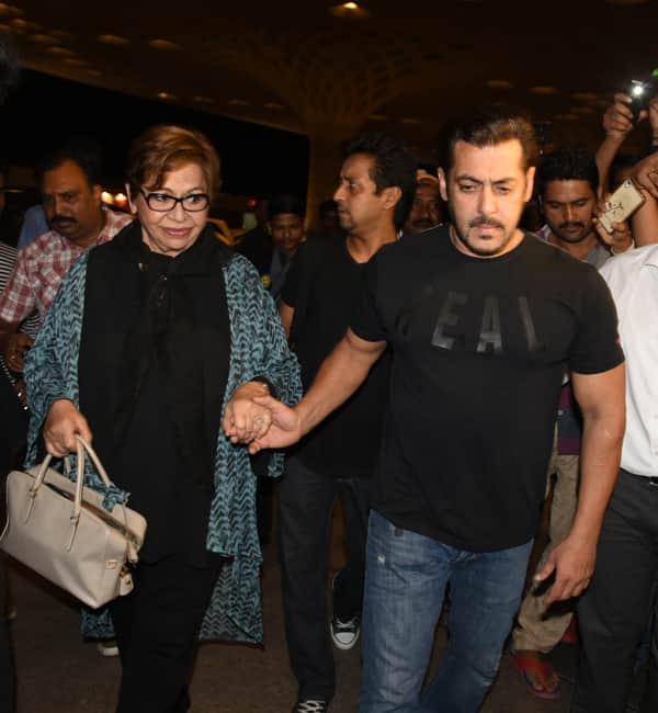 Salman Khan sports a casual look as he leaves for IIFA 2017