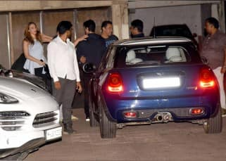 Salman Khan takes a day off from Tubelight promotions, spends it with family and rumoured girlfriend Iulia Vantur – view photos