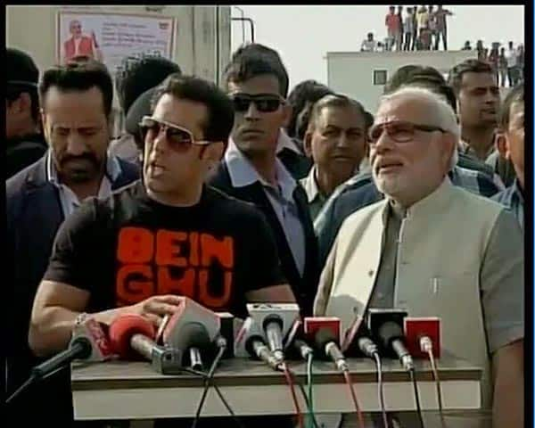 Salman Khan's day out with Narendra Modi in Gujarat for Jai Ho promotions!