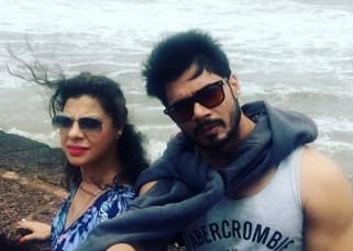 Sambhavna Seth is having a gala time with husband Avinash Dwivedi during her honeymoon in Goa!