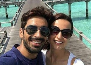 Sanaya Irani and Mohit Sehgal share their honeymoon selfie