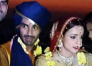 Sanaya Irani ties knot with Mohit Sehgal in Goa. Check out pics!