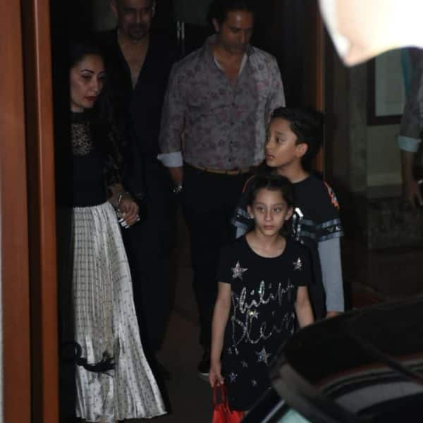Sanjay Dutt And Family Begin The Celebrations With A Pre
