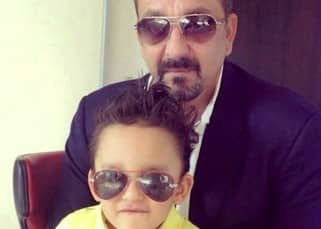 Sanjay Dutt's picture with son Sarhan Dutt is the cutest thing you will see today