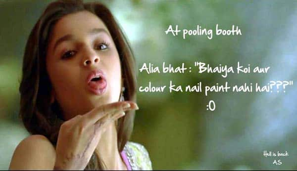 Sexy Alia Bhatt's dumb jokes on social media!
