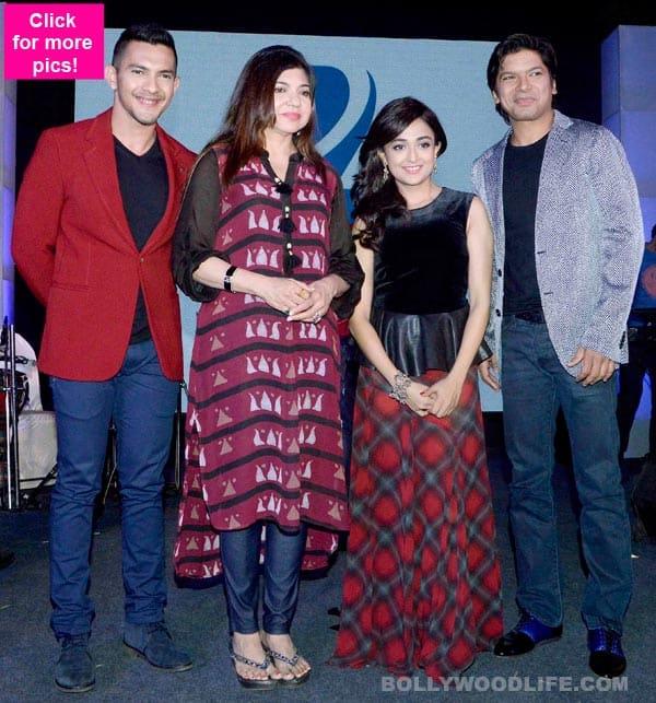 Shaan, Alka Yagnik, Aditya Narayan launch Sa Re Ga Ma Pa - View pics!
