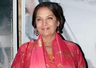 Shabana Azmi clicked at 'Neerja' screening