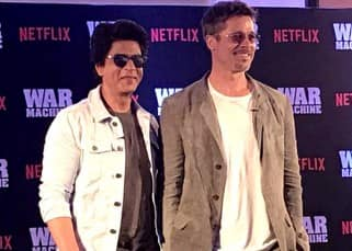 Shah Rukh Khan meets Brad Pitt for a talk show and we have a tough time deciding who's hotter – photos