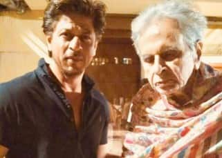 Shah Rukh Khan pays a visit to his idol Dilip Kumar – view pics